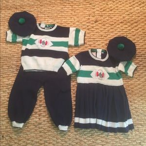 Other - Matching boy/girl sailor sweater outfits